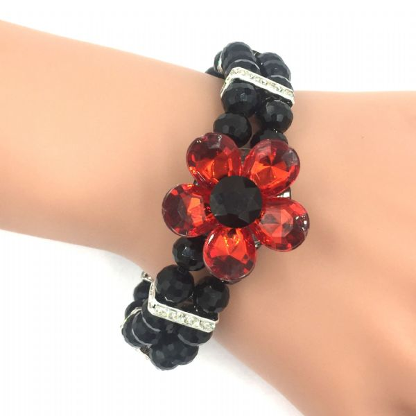 10 x Luxury poppy bracelet kits (cost price = £3.50)